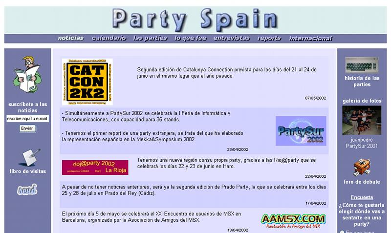 partyspain2002